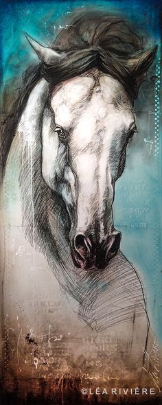 Wild is the wind Painted Horses, Wild Is The Wind, Pop Art, Portraits, Equine Art, Art Abstrait, Horse Art, Funny Images, Les Oeuvres