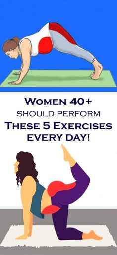 Women 40+ Should Perform These 5 Exercises Every Day!