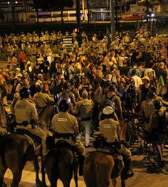 Breaking With Convention: Occupy Chicago Protests GOP in Tampa, Democrats at Home