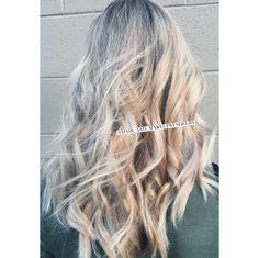 #blondehair #balayage #blondes