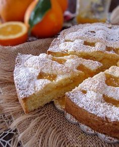 Whole pear cake - HQ Recipes Italian Cake, Italian Desserts, Italian Recipes, Sweet Recipes, Cake Recipes, Crostata Recipe, Jam Tarts, Pear Cake, Mini Sandwiches