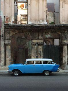 Perfect stationwagon in Cuba
