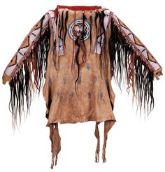 Unknown Blackfoot artist, Man's shirt, c. 1880