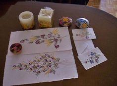 Manualidades sencillas con flores prensadas