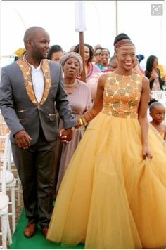 Couple Goals: Check Out These Stylish His & Hers Matching Ankara Styles For Slaying Couples - Nigerian Wedding African Wedding Attire, African Attire, African Wear, African Women, African Print Dresses, African Fashion Dresses, African Dress, African Traditional Wedding Dress, Traditional Outfits