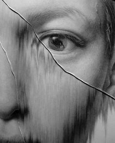 Los retratos agrietados de Taisuke Mohri