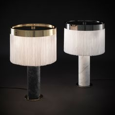 Orsola Black Table Lamp by Bozzoli - Shop Tato online at Artemest