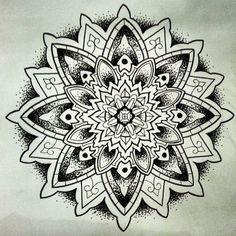 Mandala Designs, derplikethereisnotomorrow: #mandala #tattoo...