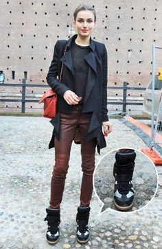 Love everything 100% about this outfit.  Isabel Marant