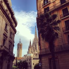 Gothic Quarter, Barcelona, Spain