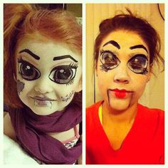 Pinterest Fail! Doll makeup