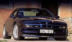 E31 Alpina-BMW B12 5.7 Coupe. A whopping 416 hp and the first BMW to crack the 300 km/h (186 mph) barrier.