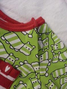 Knäpping i raglansöm Sewing Hacks, Sewing Tutorials, Sewing Tips, Sewing Ideas, Sewing For Kids, Diy For Kids, Baby Barn, Textiles, Band