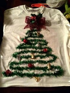My tacky Christmas sweater