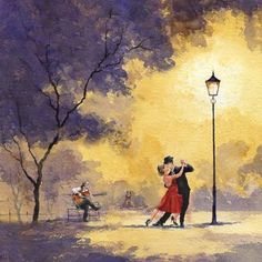 The Last Tango : Eric Thompsons UK Watercolours