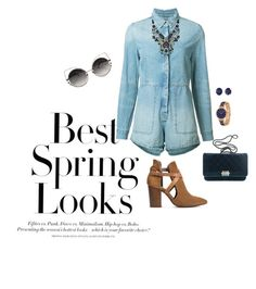 """""""Spring blues"""" by beverlyclm on Polyvore featuring H&M, Ksubi, Ayala Bar, H London, Chanel, Effy Jewelry and Marc Jacobs"""
