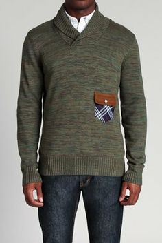 The Workwear Shawl Sweater - Goodale - Sweaters : JackThreads