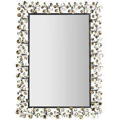 Amber Dazzle Mirror