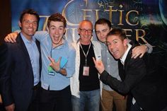 @Celtic Thunder guys at the Perth Meet and greet 2014