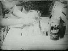 genuine! 1950s TV Commercial: Wisk Laundry detergent (1957)