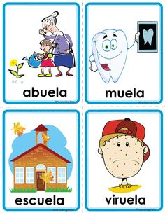 Picture Spanish Teaching Resources, Spanish Activities, Alphabet Activities, Teacher Resources, Preschool Activities, Learning Websites For Kids, Ideas Aniversario, Abc Worksheets, Bilingual Classroom