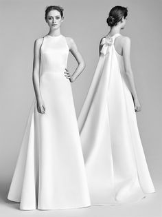 Silhouette singolari ed abiti unici, ognuno con una forte personalità. Ecco la nuova collezione bridal di Viktor Horsting e Rolf Snoeren