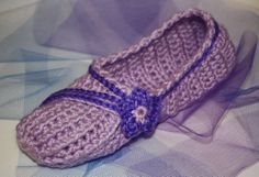 Women's Handcrafted Crochet Shoes by anniekscreations on Etsy, $21.50
