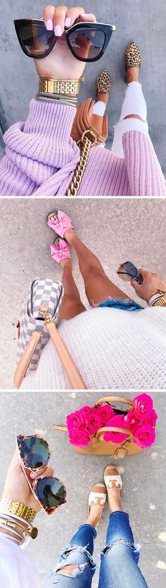 Emily Ann Gemma   The Sweetest Thing Blog   Cutest flats! Bow sandals are perfect for warm weather. Romantic leather flats just wear your normal beach clothes and dress them up with these cute sandals. Prada Sunglasses are on sale! #EmilyGemma #TheSweetestThingBlog #Prada