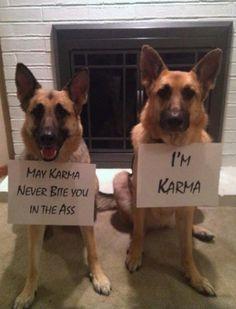 May karma never bite you…!