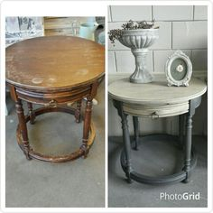 From old to new with Chalkpaint by Annie Sloan.