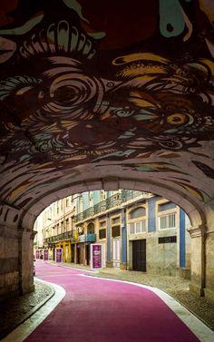 Rua Cor de Rosa - Lisboa - Portugal