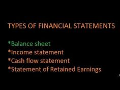 Introduction to the Balance Sheet - YouTube