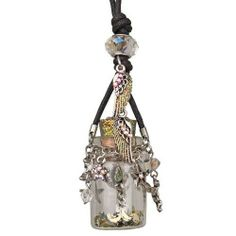 Kirks Folly Angel in a Bottle Necklace with Enchanted Charms and Follydust!