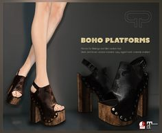 Pure Poison - Boho Platforms for Maitreya and SLINK Medium FeetAD | Flickr - Photo Sharing!