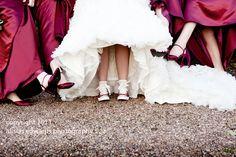 Cool Converse pumps for our autumn bride, Kate