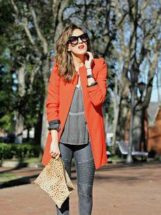 Look & Chic: Designer Oversize Round Circle Pointed Cat Eye Sunglasses 9180