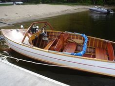 1954 Penn Yan Captivator Mahogany Wooden Boat - Antique and ...