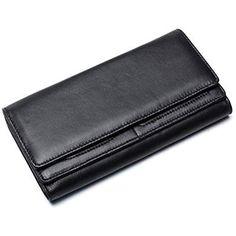 Petit portefeuille joli peau de vache Porte-monnaie Portefeuille Messieurs bourse