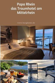 Das Papa Rhein Hotel in Bingen ist sehr edel und sehr individuell. Die Küche ist hervorragend und der Rooftop-Pool ist absolut einmalig. Papa Rhein ist die Top Hotelempfehlung für den Mittelrhein zwischen Bingen und Rüdesheim.  #rheinlandpfalz #mittelrhein #paparhein #hotel