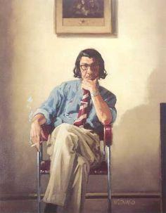Self Portrait by Jack Vettriano http://jackvettriano.com
