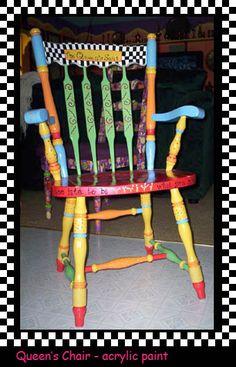 Yummies Hand-Painted Furniture & Design - Nytshadow Designs
