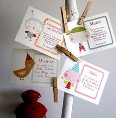 Image of Invitaciones personalizadas- Custom printable cards