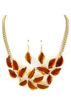 Liv Necklace in Sepia Wash
