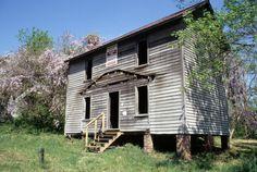 Front view, Lot 11, Glencoe Mill Village, Glencoe, Alamance County, North Carolina