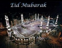 Eid Mubarak to all Muslims in the world and every year, you okay