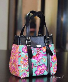 Handtasche  Tasche  schwarz Ledertasche  Alltag  Tula von Bagstock