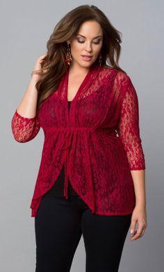 78e31f0dee Kiyonna Clothing. Blusas Para GordasBlusas Elegantes ...