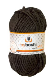 Myboshi No.3 374 kakao 100% Merinowolle 4,95 €