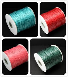 Find More Jewelry Findings & Components Information about 1.5MM Wax Cord 10m/lot Multi Colors for You to…