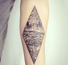 The 14 Prettiest Geometric Tattoos You Ever Did See | Brit + Co
